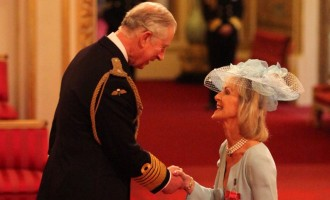 Lady Cobham awarded CBE for services to tourism