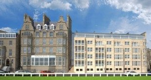 Macdonald Rusack Hotel proposed extension view