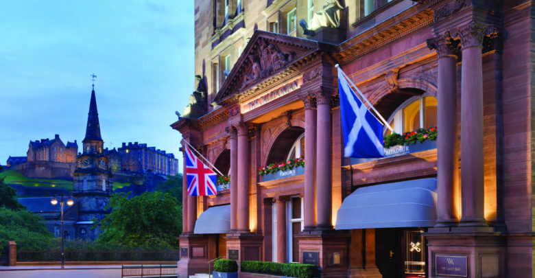 The Waldorf Astoria Edinburgh hotel sold for record sum