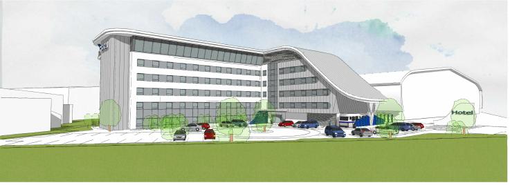 Hampton by Hilton Duxford to open in 2022