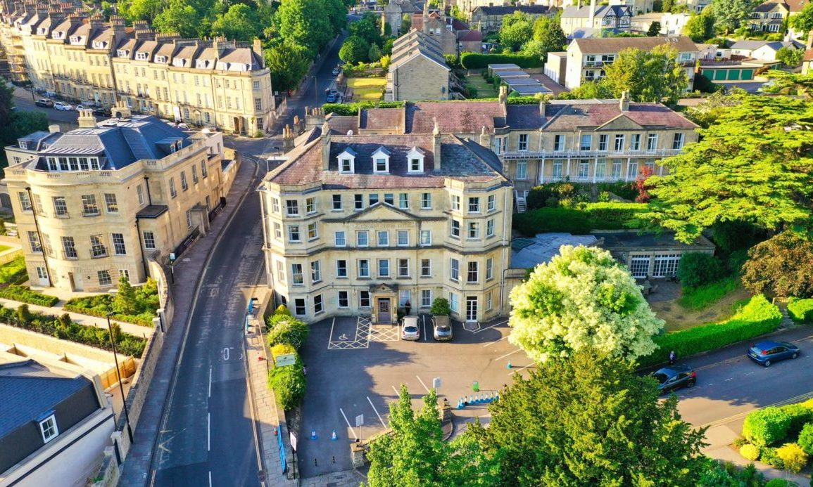 Lansdown Grove hotel placed up for sale for £8m